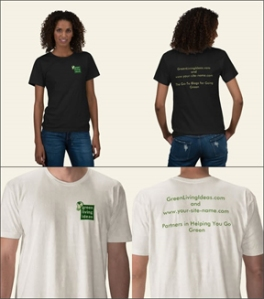 Green Living T-shirt Styles for Contest